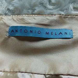 ANTONIO MELANI Skirts - Antonio Melani sequined rose gold snakeskin skirt